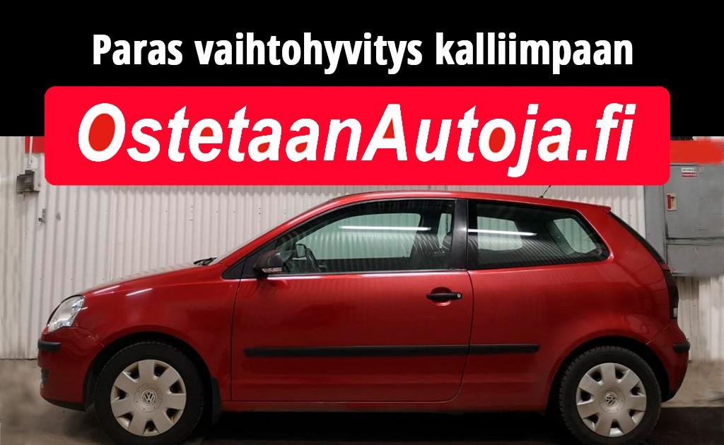 Ostetaan autoja Helsinki, Vantaa, Espoo, Tampere, Turku, koko Suomi